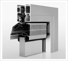 Grila ventilatie geam AR 75
