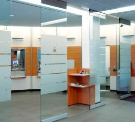 Perete glisant vitrat shopMaster GSW-A